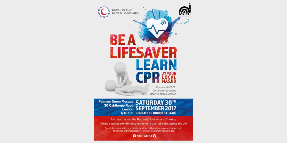 BIMA Lifesavers Course: Palmers Green Mosque