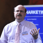 Guy Powell providing marketer training