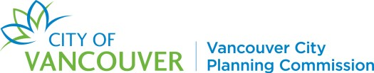 Vancouver City Planning Commission wordmark