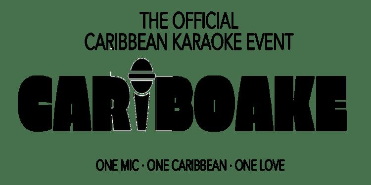 Cariboake Logo and tagline; One Mic, One Caribbean, One Love