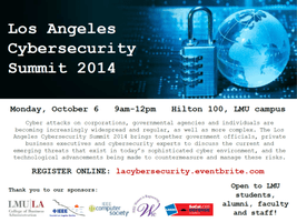 LA Cyber Security Awareness Event -Part of National...