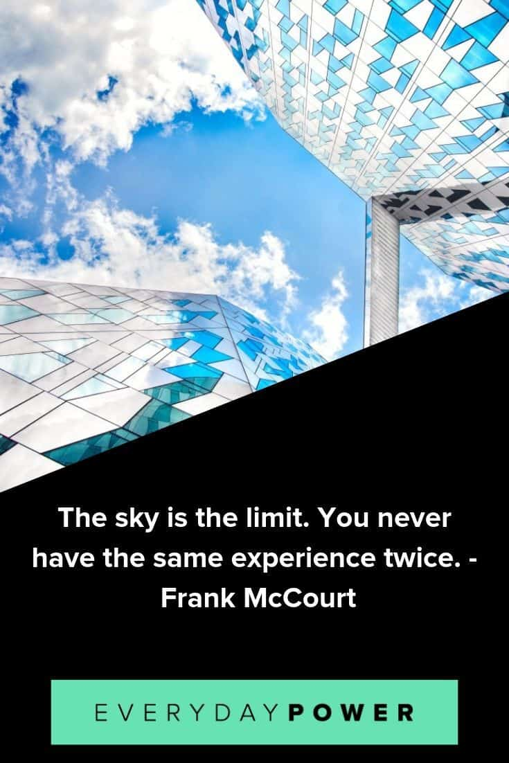 Sky quotes to help you reach your highest potential