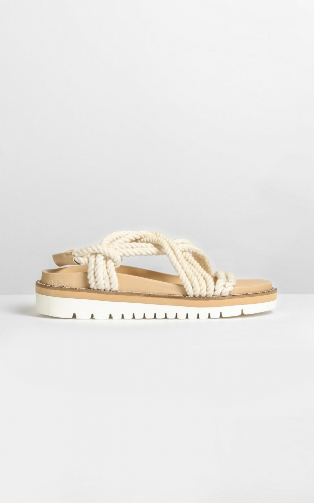 Therapy - Bermuda Sandals In Natural Beige 12