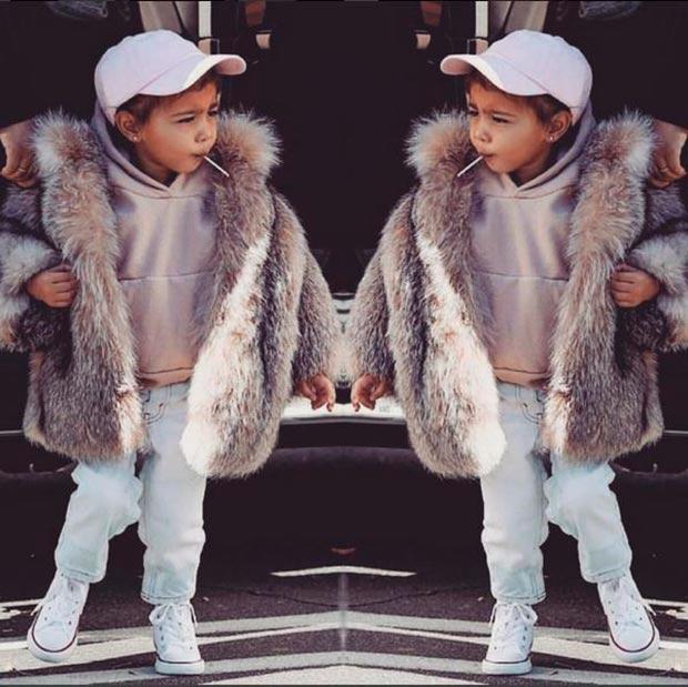 Image result for abrigos kardashian