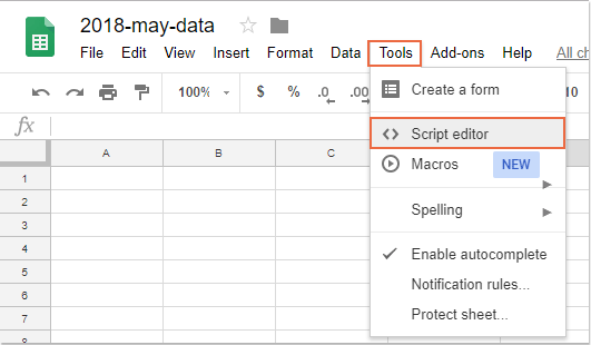 How To Get List Of Sheets Names In Google Sheets