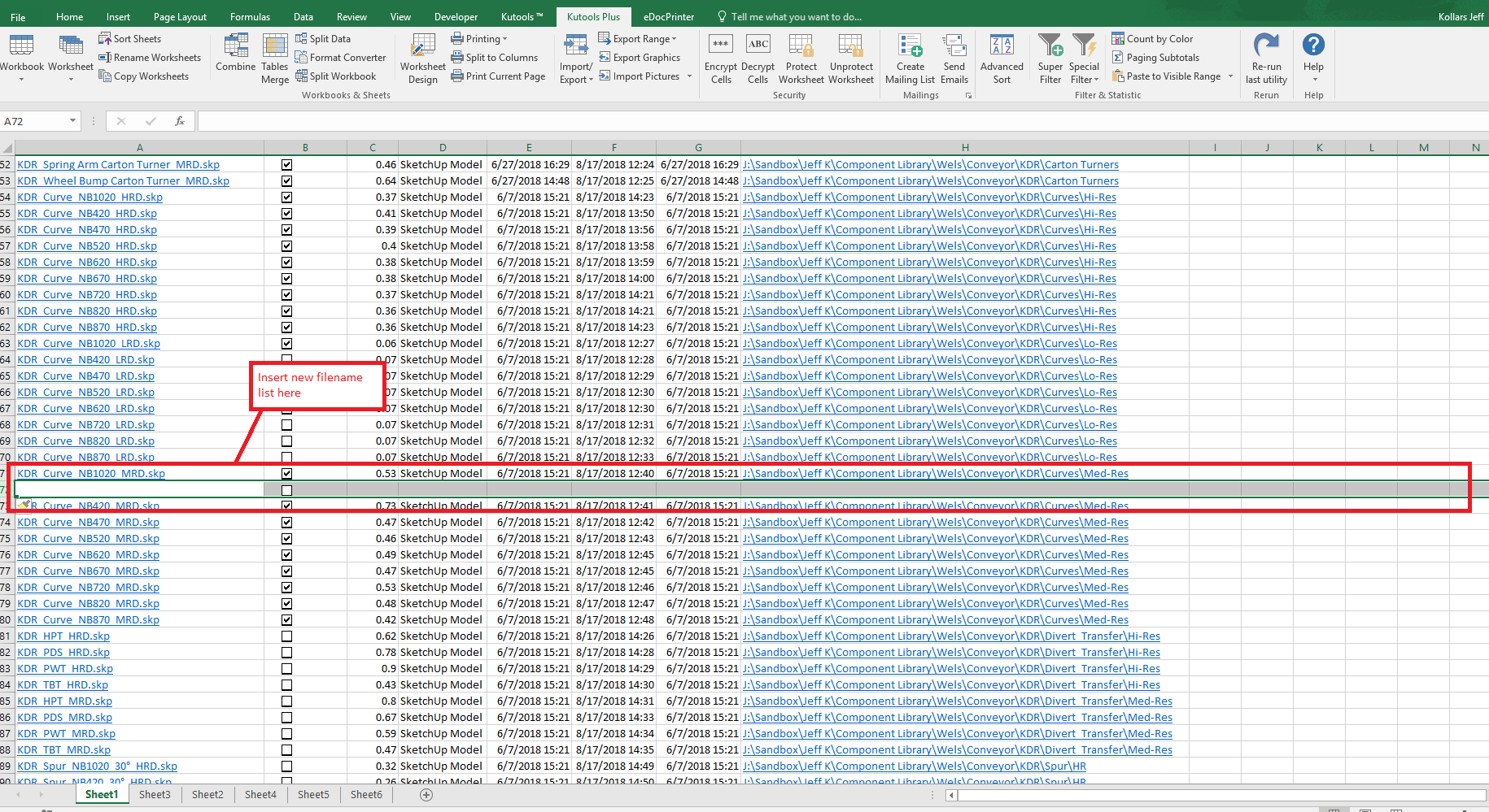 How To List All File Names From A Folder And Sub Folders Into A Worksheet