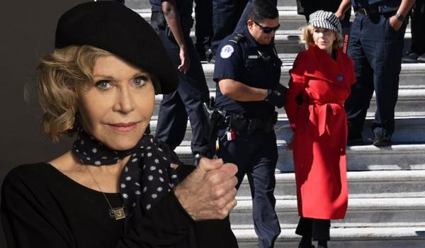 Jane Fonda arrested at climate change protest as she kicks off weekly rallies