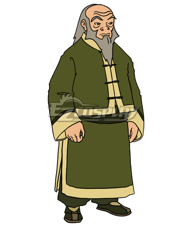 Avatar: The Last Airbender Iroh Cosplay Costume - B Edition
