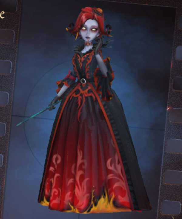 Identity V Bloody Queen Mary Fiery Diva Halloween Cosplay Costume