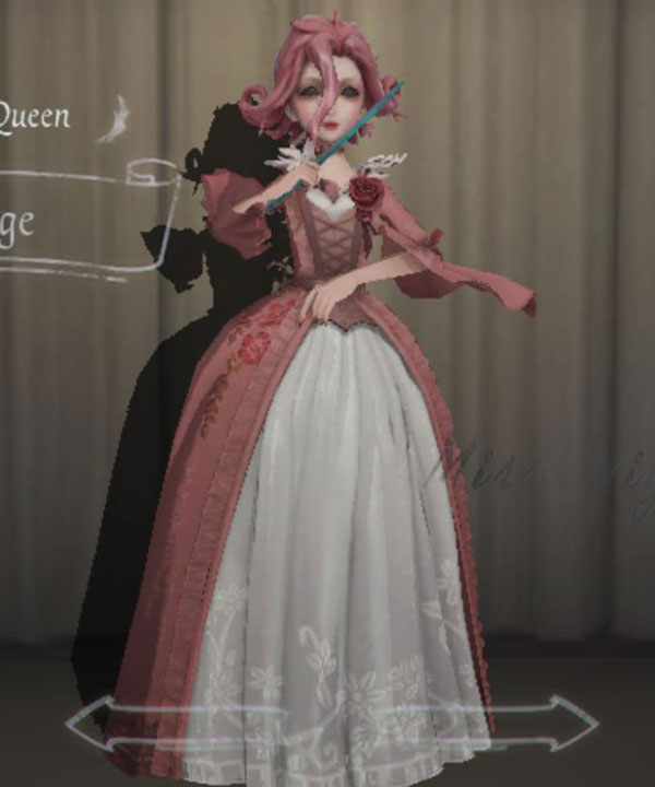 Identity V Bloody Queen Mary Rouge Halloween Cosplay Costume