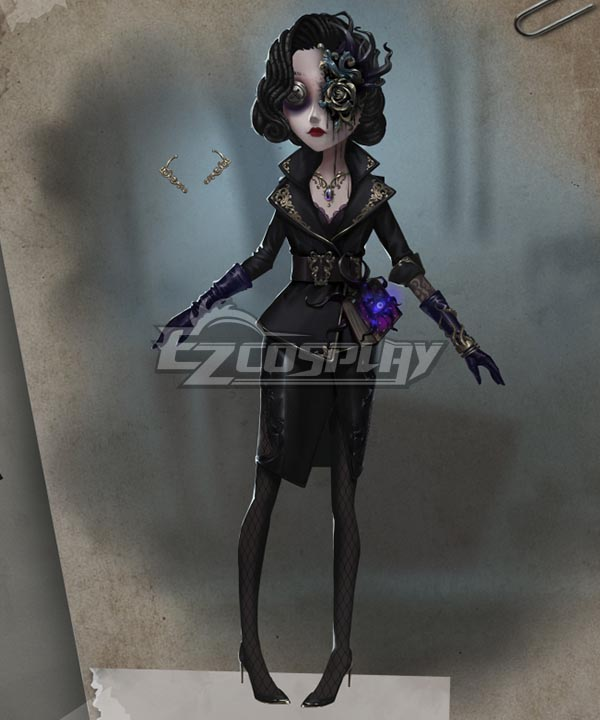 Identity V Female Dancer Margaretha Zelle Vile Blossom Halloween Cosplay Costume