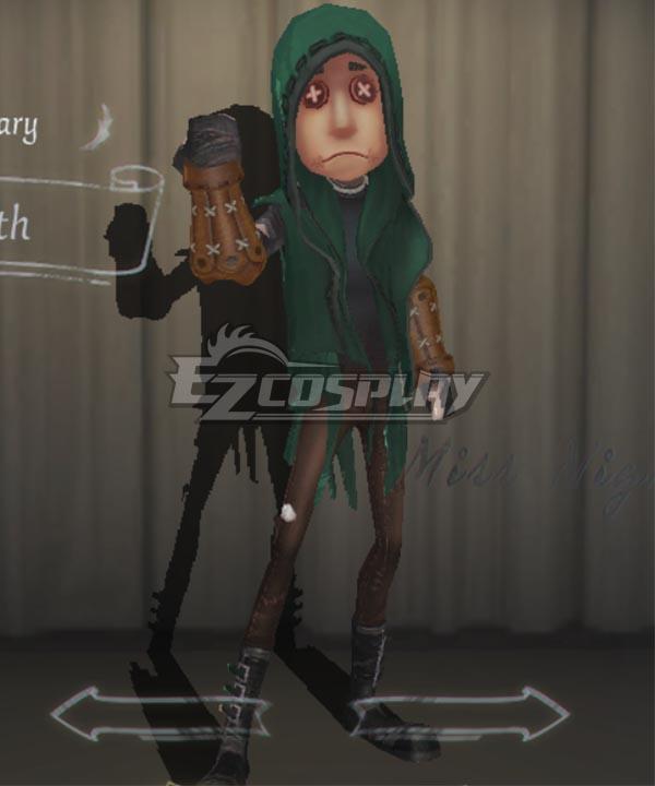 Identity V Mercenary Naib Subedar Stealth Halloween Cosplay Costume