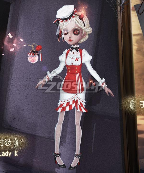 Identity V Perfumer Vera Nair Lady K Halloween Cosplay Costume