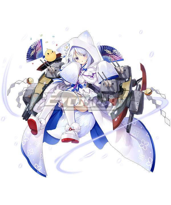 Azur Lane IJN Uranami Cosplay Costume