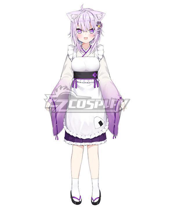 Holdlive Virtual YouTuber Nekomata Okayu New Year Cosplay Costume