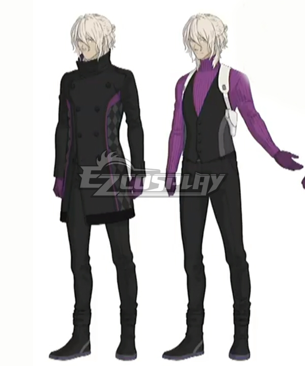 Ai The Somnium Files Kaname Date Cosplay Costume