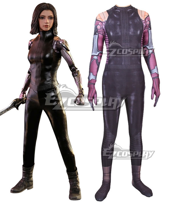 Alita: Battle Angel Alita Jumpsuit Cosplay Costume