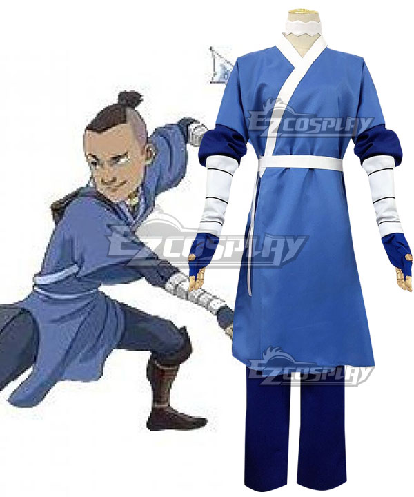 Avatar: The Last Airbender Sokka Cosplay Costume - New Edition