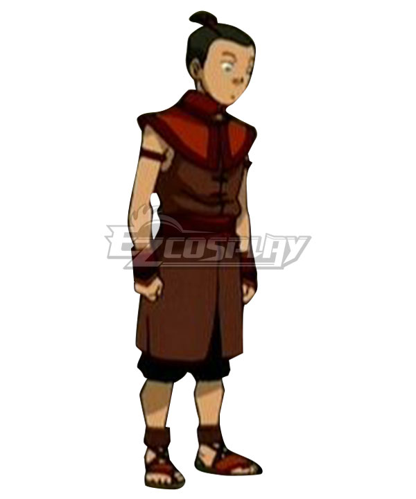 Avatar The Last Airbender Sokka Red Cosplay Costume