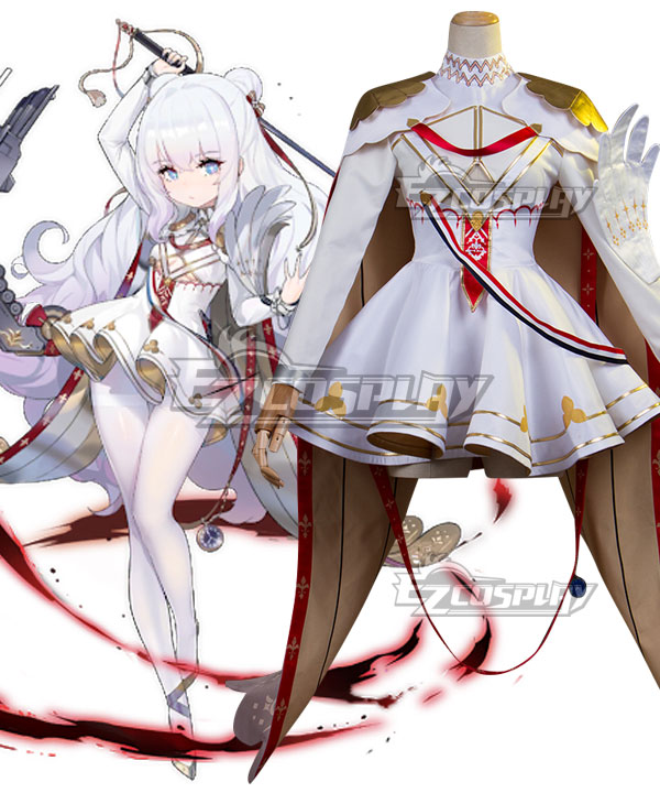 Azur Lane Le Malin Cosplay Costume