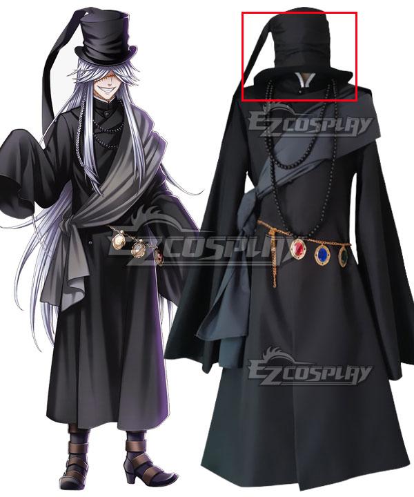 Black Butler Kuroshitsuji Undertaker Grim Reaper Cosplay Costume Only Hat