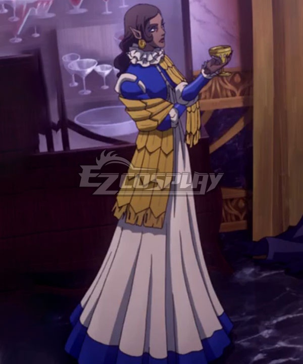 Castlevania Season 3 Netflix 2020 Anime Morana Cosplay Costume