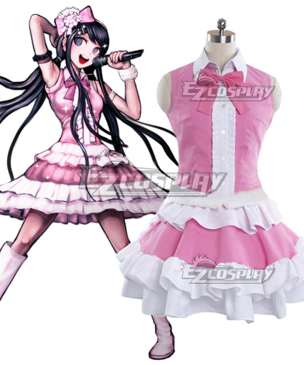 DanganRonpa Dangan Ronpa Sayaka Maizono New Edition Cosplay Costume