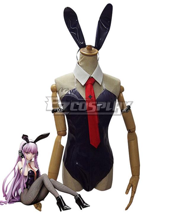 Danganronpa Dangan Ronpa 3 Kyoko Kirigiri Bunny Rabbit Girl Swimsuit Cosplay Costume