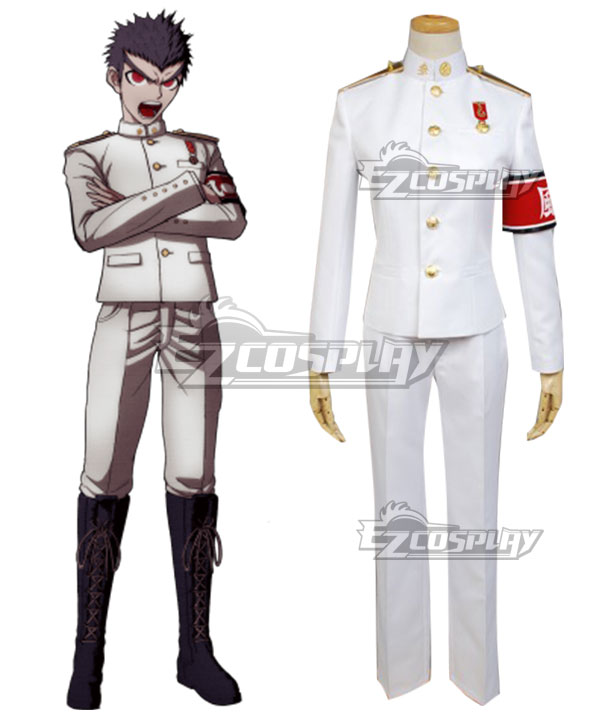 Danganronpa Dangan Ronpa Kiyotaka Ishimaru Cosplay Costume