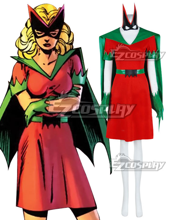 DC Comics Batgirl Bette Kane Cosplay Costume