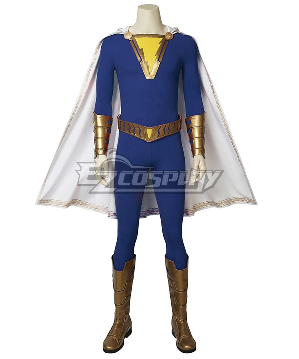 DC Comics Shazam! Freddy Freeman Cosplay Costume