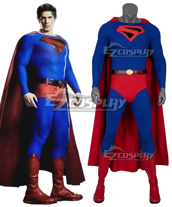 DC Crisis on Infinite Earths Superman Cosplay Costume