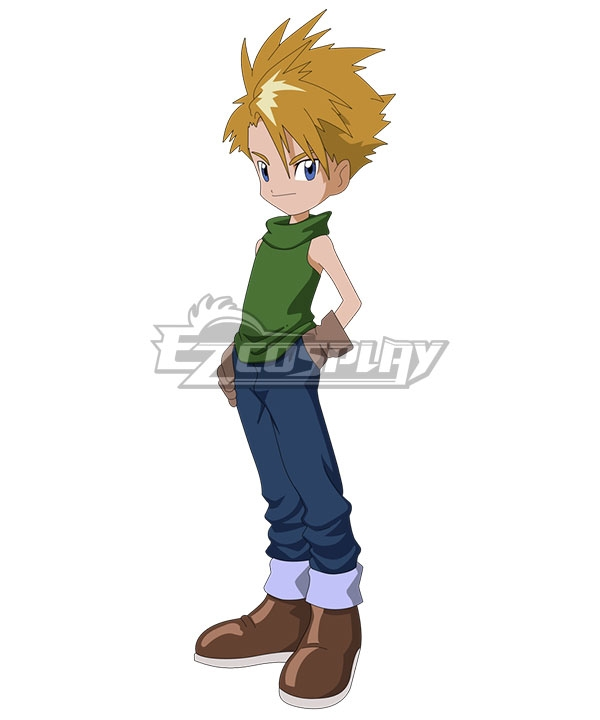 Digimon Adventure Digital Monster Yamato Ishida Matt Cosplay Costume