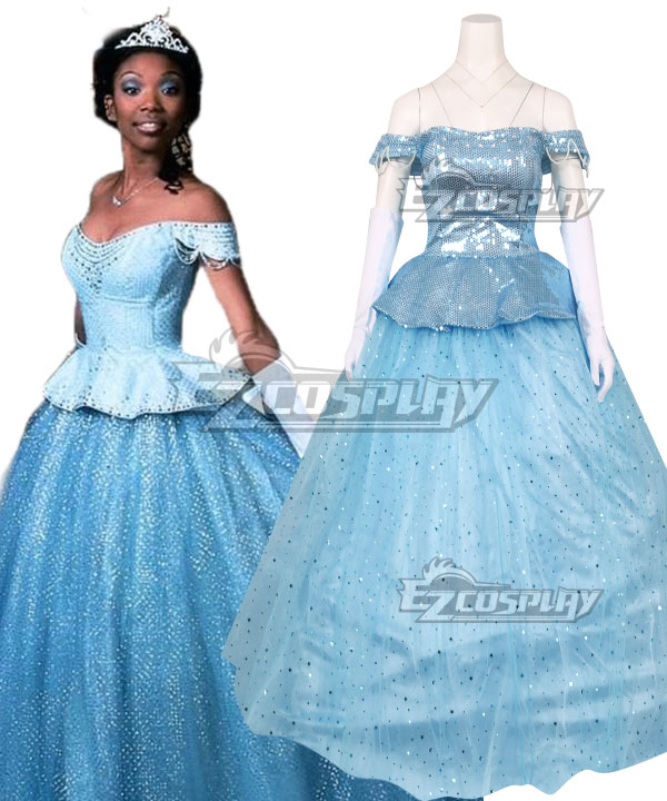 Disney 1997 Movie Cinderella Brandy Norwood Cosplay Costume
