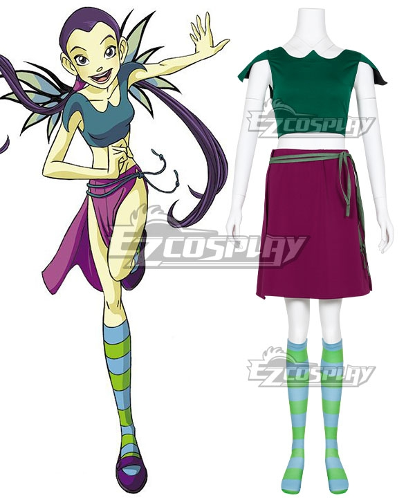 Disney W.I.T.C.H.  Witch Hay Lin Cosplay Costume