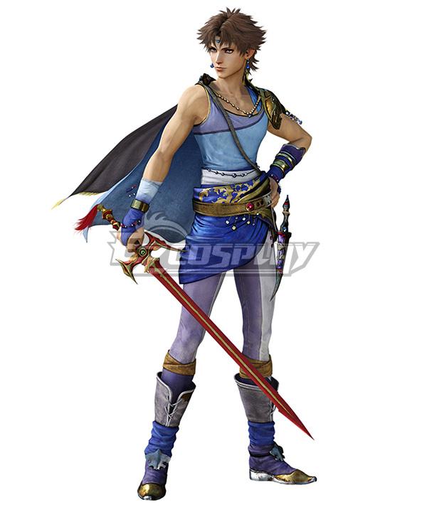 Dissidia Final Fantasy NT Bartz Klauser Fullset Cosplay Costume