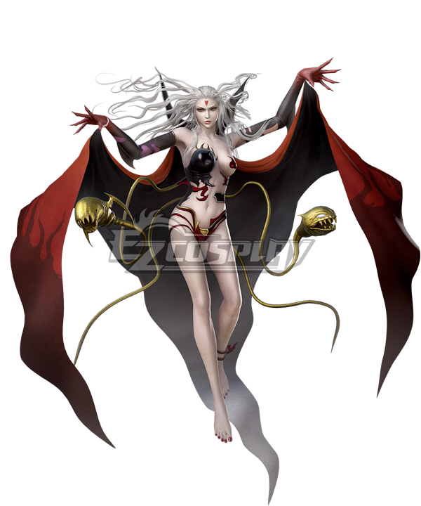 Dissidia Final Fantasy NT FF3 cloud of darkness Cosplay Costume