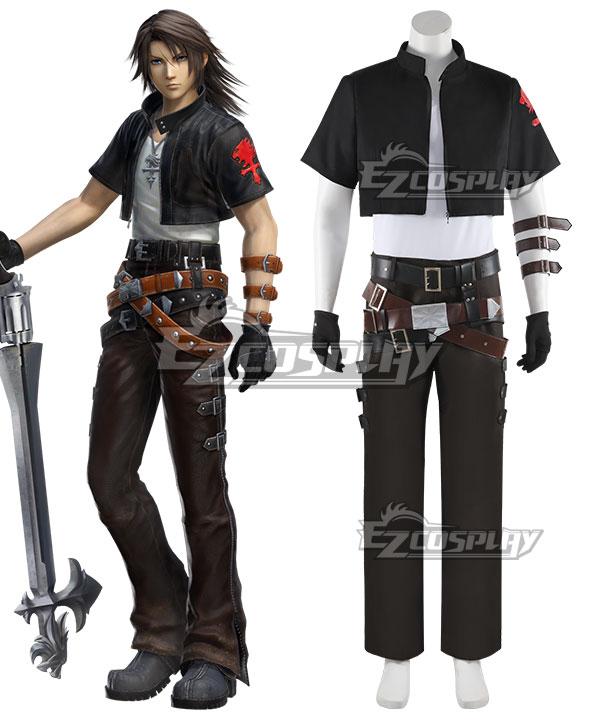 Dissidia Final Fantasy NT Squall Leonhart Kingdom Hearts Cosplay Costume