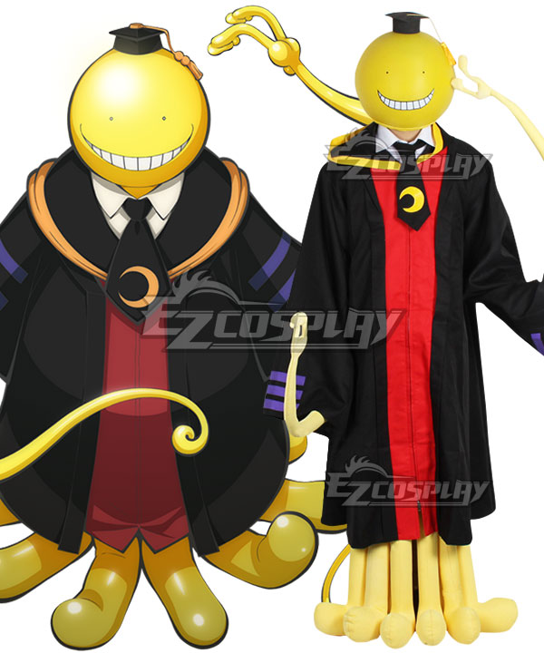 Assassination Classroom Korosensei Cosplay Costume - Changed to Cape instead of Hood
