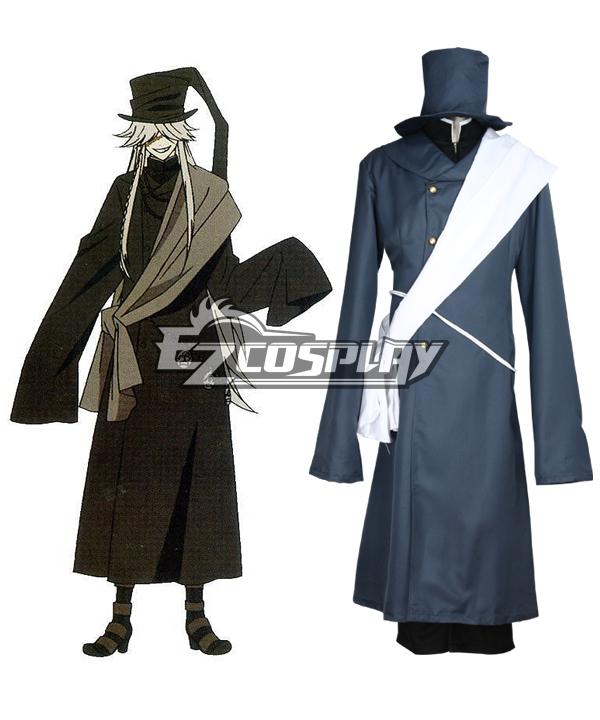 Black Butler Undertaker Cosplay Costume