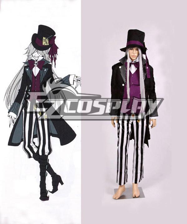 Black Butler Undertaker New Cosplay Costume