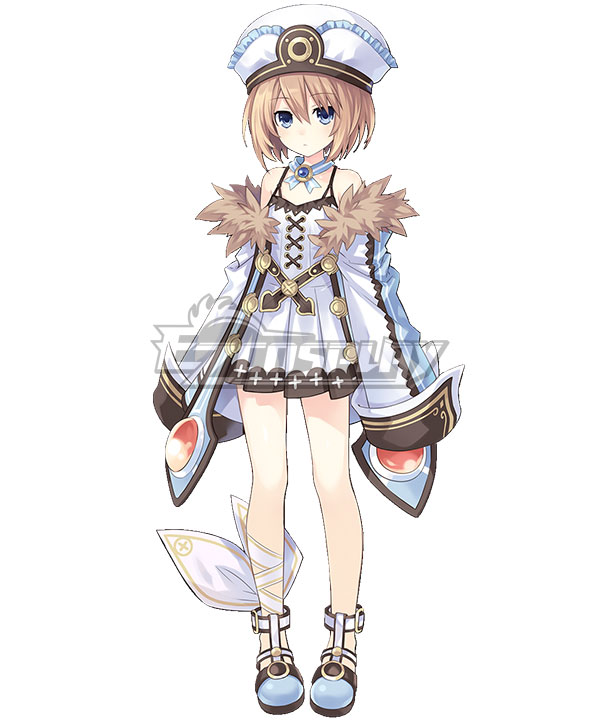 Hyperdimension Neptunia Blanc Cosplay Costume