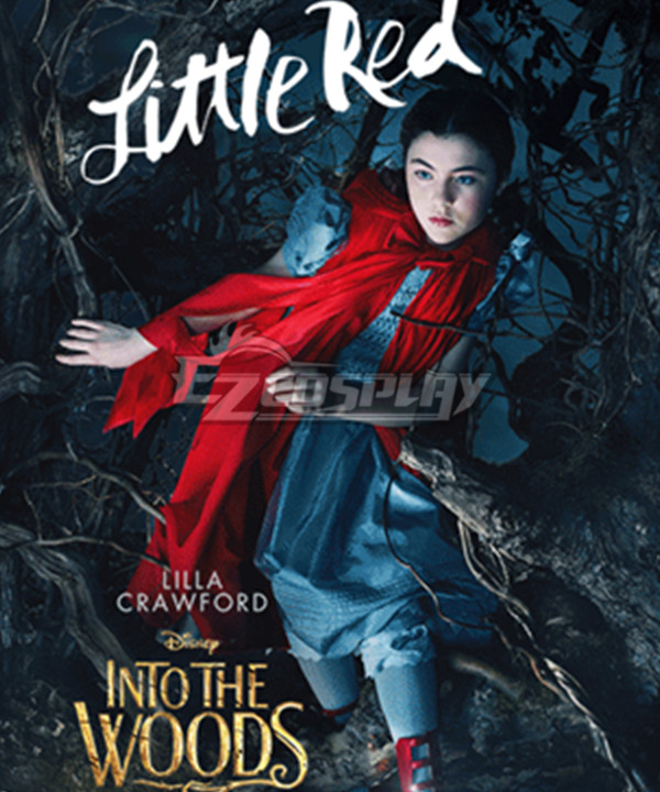 Into the Woods Little Red Cosplay Costume