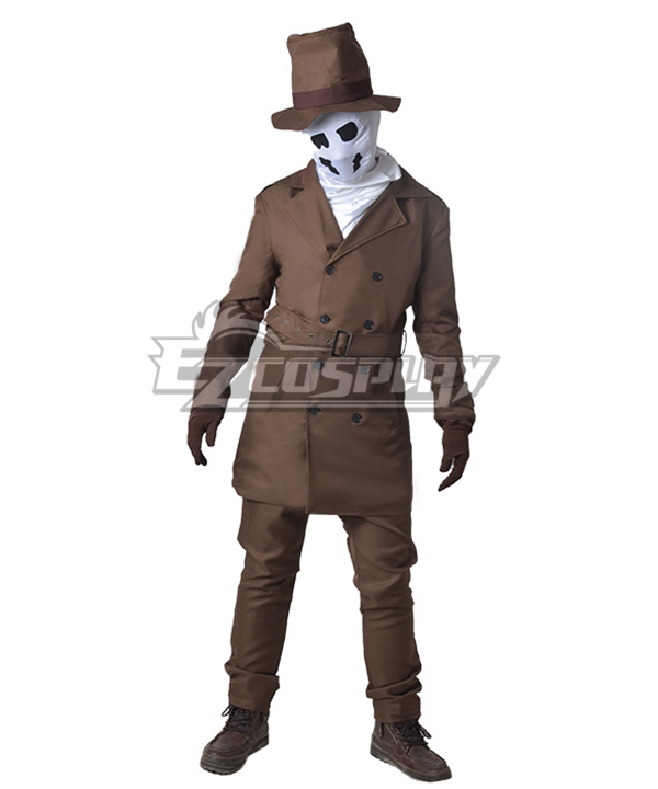 DC Comics Watchmen Rorschach Cosplay Costume