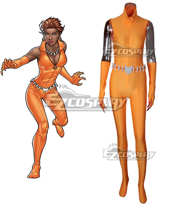 DC COMICS Superhero the Lady Fox Vixen Cosplay Costume