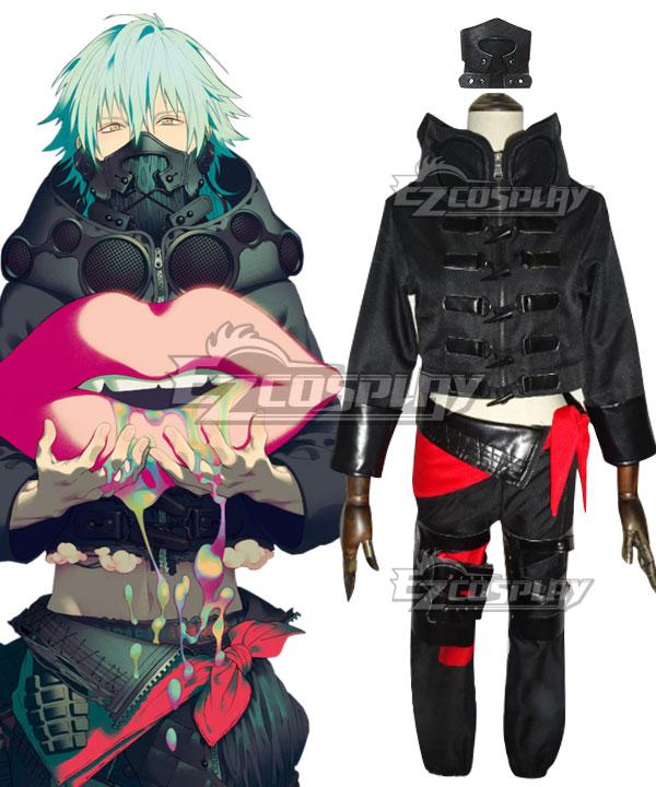 DMMD Dramatical Murder Aoba Seragaki Black Cosplay Costume