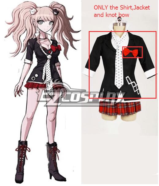 DanganRonpa Dangan Ronpa Junko Enoshima Cosplay Costume - WITHOUT Skirt and Tie