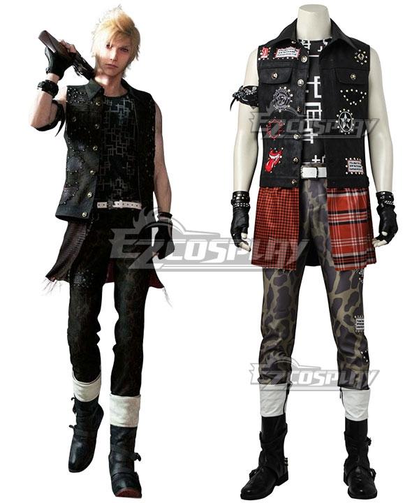 Final Fantasy XV Prompto Argentum Cosplay Costume -Premium Edition