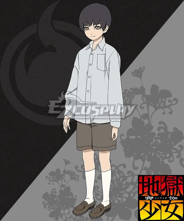 Hell Girl: Yoi no Togi Yamawaro Cosplay Costume