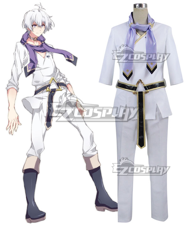 Idolish 7 Osaka Sogo White Cosplay Costume